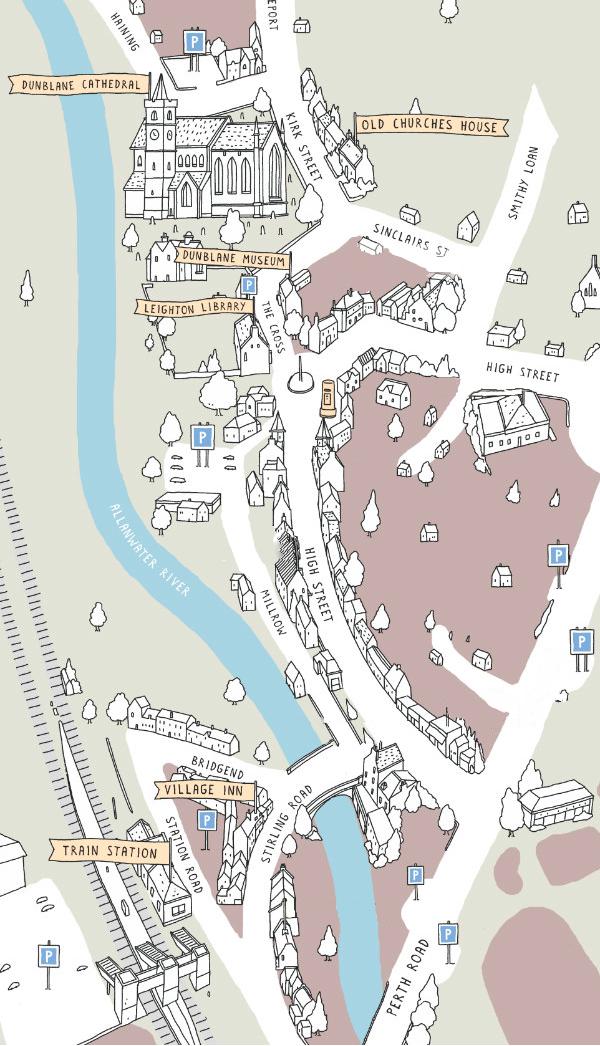 Dunblane Map