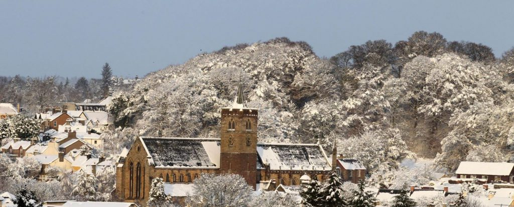 Dunblane in Winter